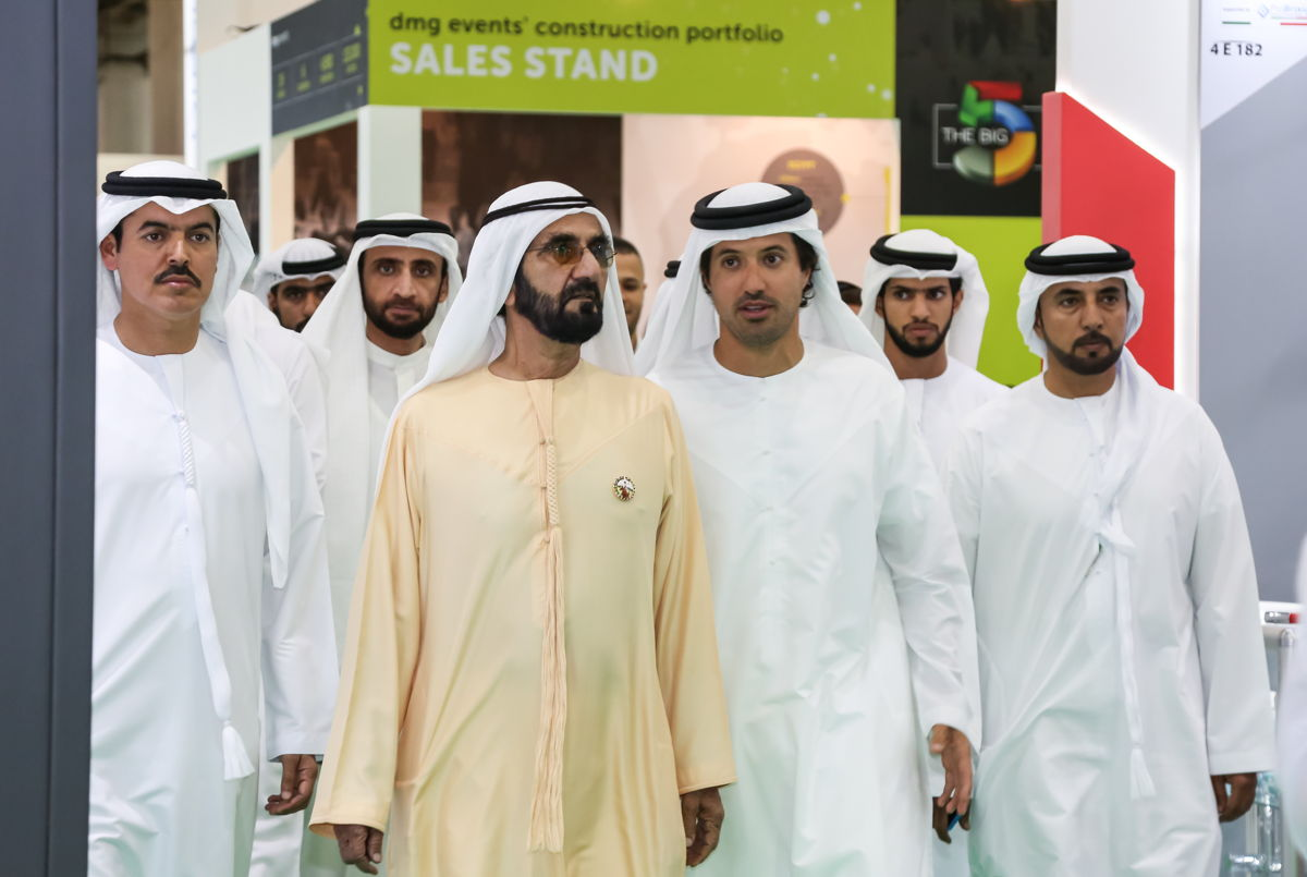 His Highness Sheikh Mohammed bin Rashid Al Maktoum, Vice President and Prime Minister of the UAE and Ruler of Dubai