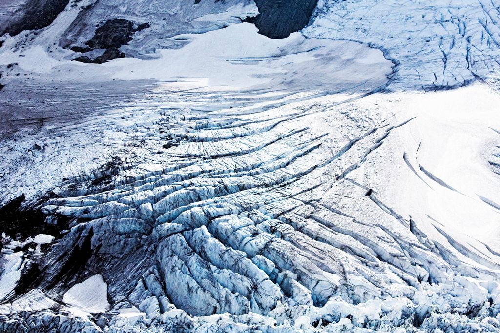 Inspiration - Névé Formation, Fox Glacier, New Zealand.