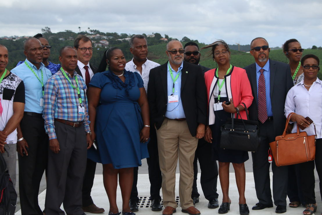 Delegates at the 4th Council of OECS Health Ministers meeting in Martinique.