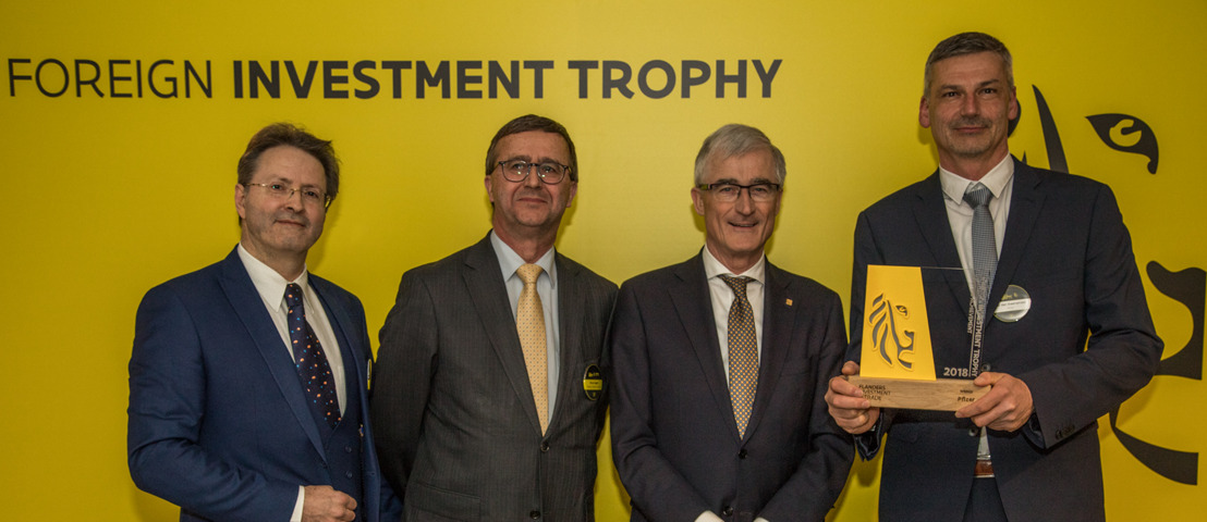 Lifetime Achievement Trophy voor Pfizer België