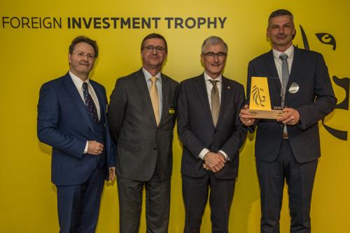 Lifetime Achievement Trophy voor Pfizer België