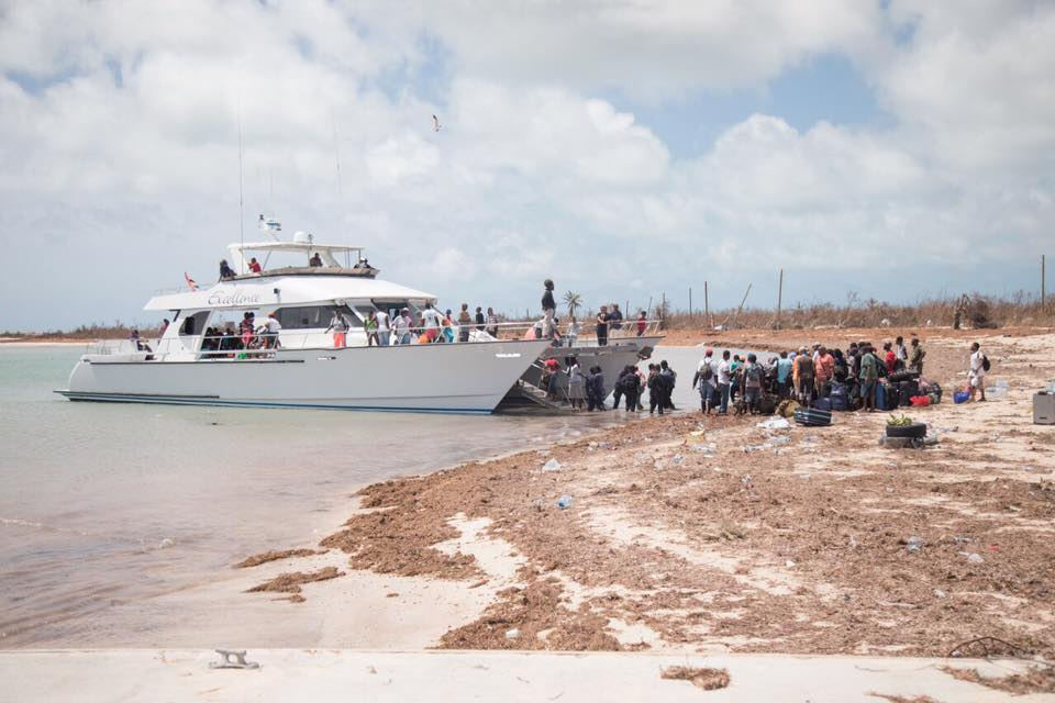 Residents prepare to evacuate Barbuda Post-Hurricane Irma. Photo © ABS Television