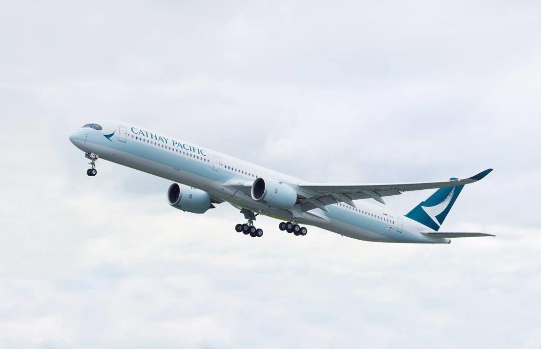 Cathay Pacific s'engage à utiliser du biocarburant entre Toulouse et Hong Kong lors de la livraison de ses A350-1000