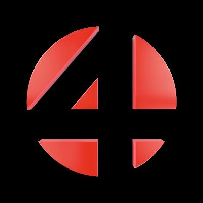 VIER perskamer Logo