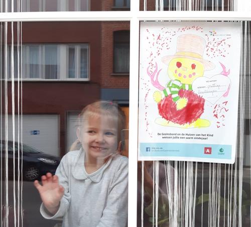 Gezinsbond zorgt in samenwerking met de Huizen van het Kind voor winterpret in Antwerpen
