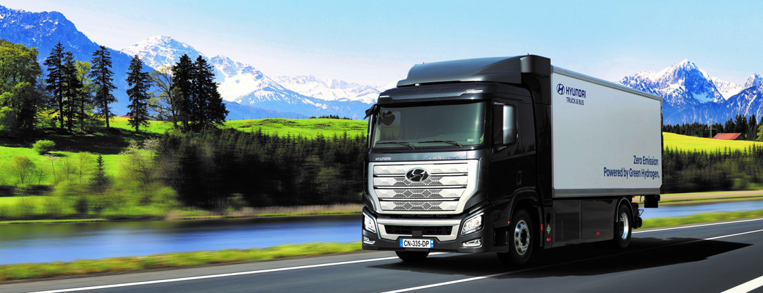 Hyundai Hydrogen Mobility remporte le Truck Innovation Award 2020
