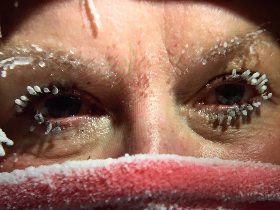 Rosie Batty in Snow