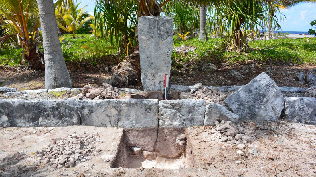 ANU excavation uncovers turtle rituals in Polynesia