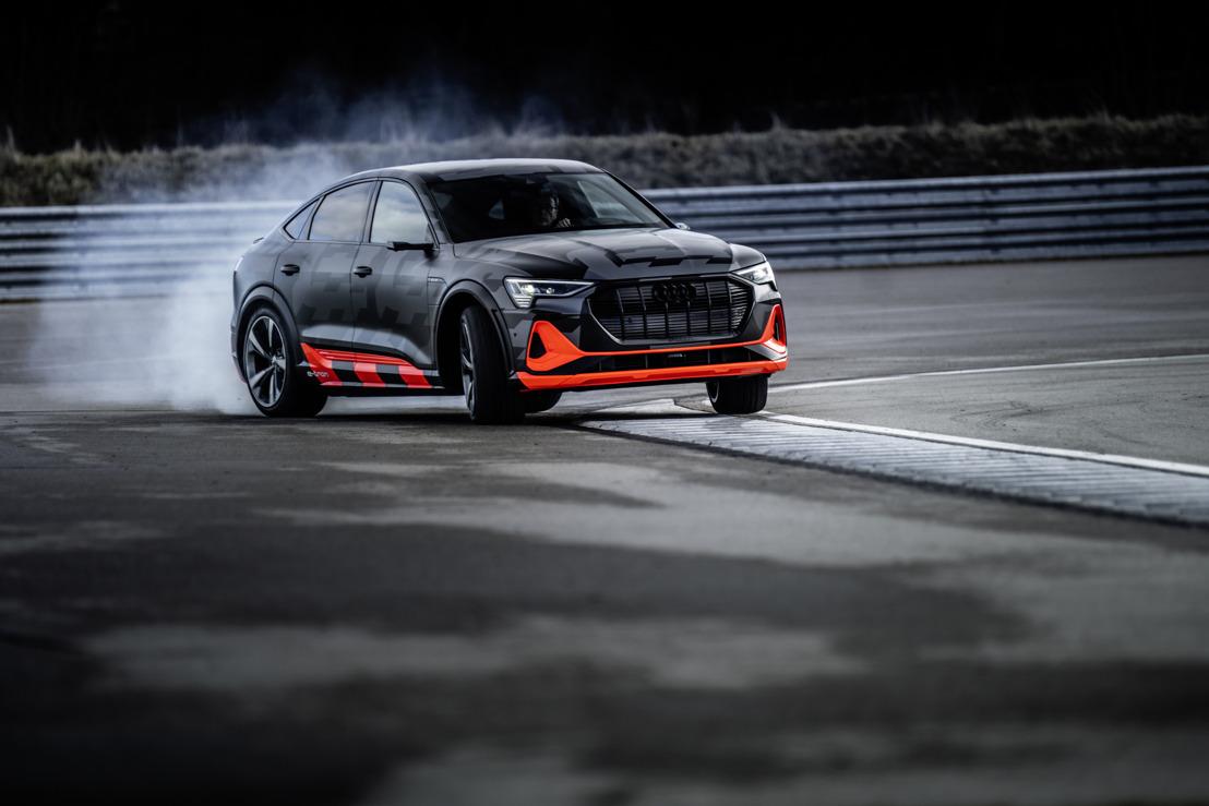 L'Audi quattro pose de nouveaux jalons à l'ère de la mobilité électrique