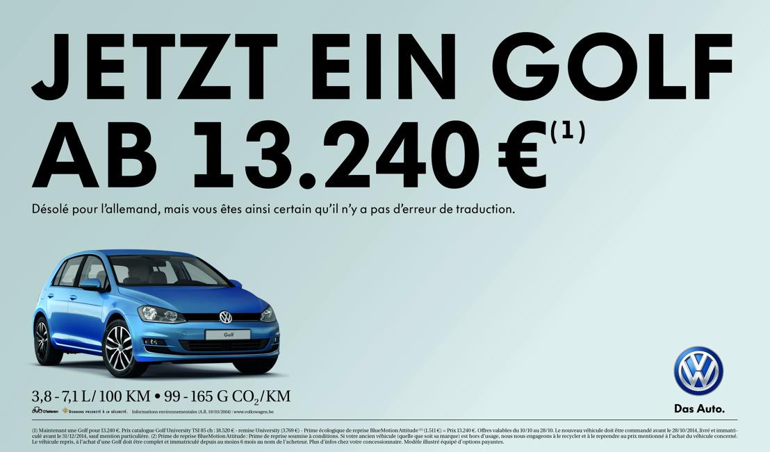 DDB en allemand pour Volkswagen
