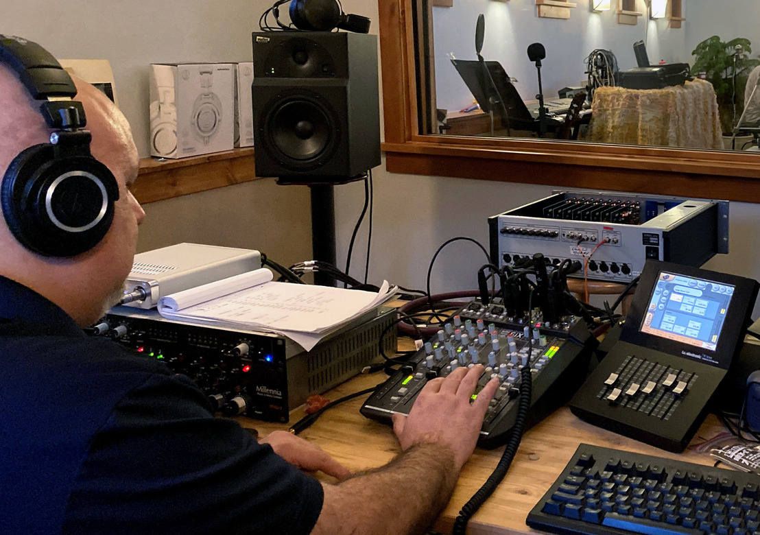 Solid State Logic SiX Desktop Mixing Console Helps DSD Audio Pioneer Gus Skinas Achieve Ultra High-End Results in a Minimalist Footprint