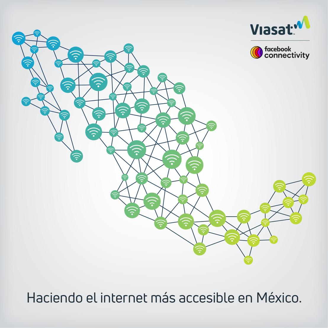 Viasat y Facebook colaboran para expandir la conectividad en zonas rurales de México