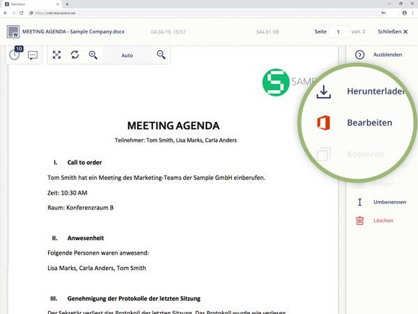 Preview: Teamplace ermöglicht die Teamarbeit mit Microsoft Office 365