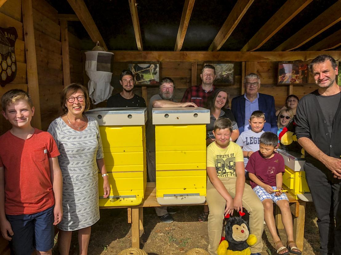 Nieuwe bijenhal in Aarschot