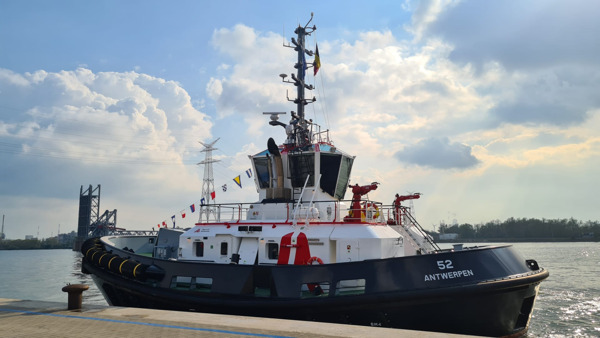 Preview: Port of Antwerp expands its fleet with energy-efficient tugs