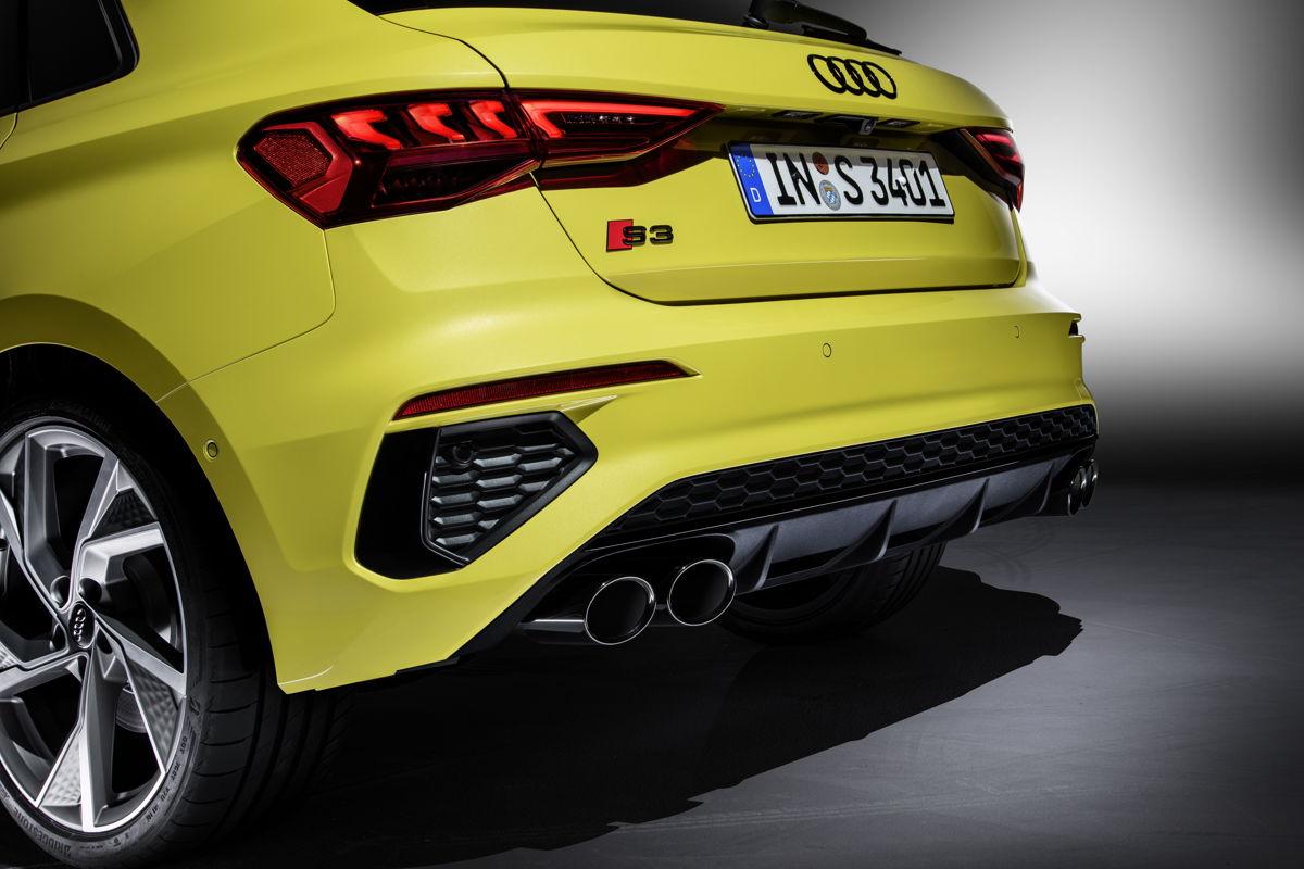 Audi S3 Sportback arrière