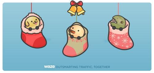 Preview: Waze, el compañero perfecto de los Reyes Magos
