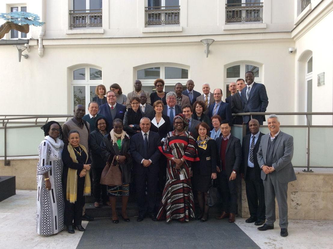 10de algemene vergadering van het RFN, Parijs, zetel van de Organisation internationale de la Francophonie, 27 april 2016