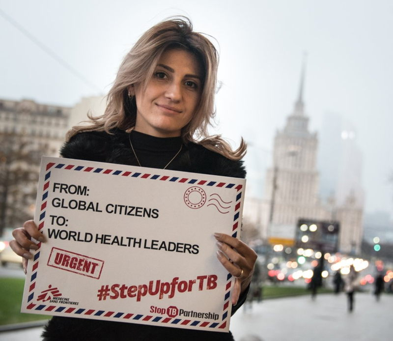 Mariam, who survived drug-resistant #tuberculosis & is now a TB activist will deliver our #StepUpforTB petition