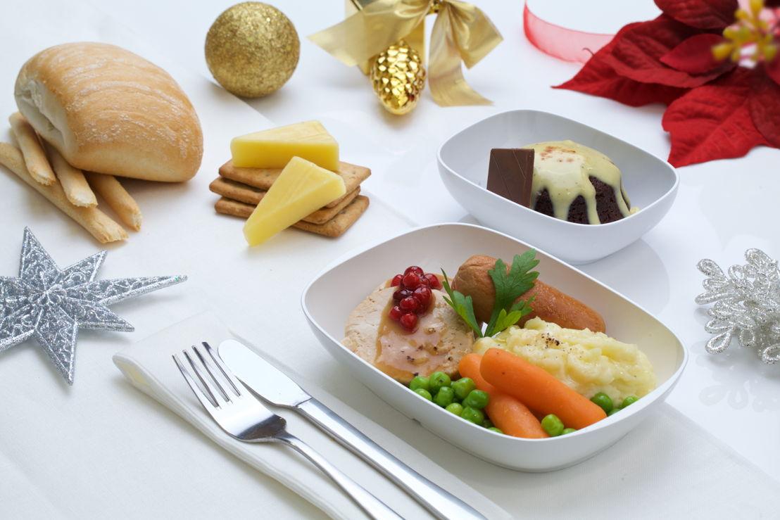 Emirates Economy Class Festive Menu