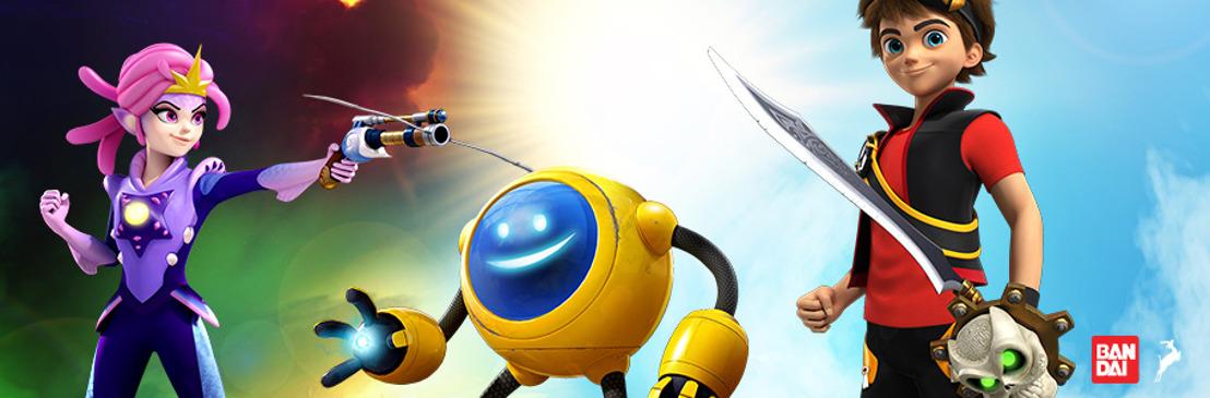 Bandai interconecta el juego de los niños con la nueva línea de juguetes de Zak Storm
