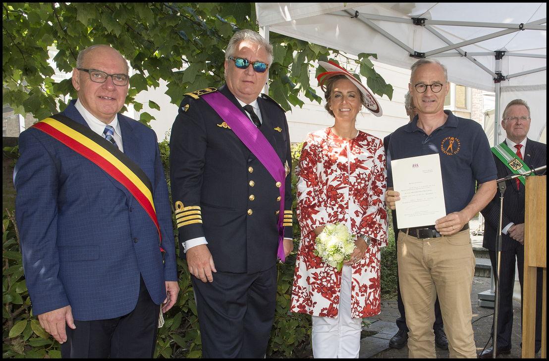 """Koninklijke vzw Krachtbalclub """"SV Osiris"""" uit Aalst, voorzitter Ralph De Kegel"""