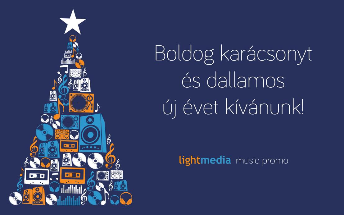 Boldog karácsonyt és dallamos új évet kívánunk!