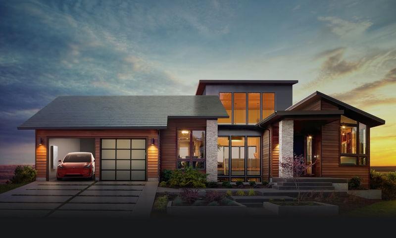 Tesla Solar Roof y PowerWall