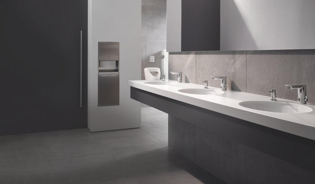 GROHE Bau Cosmopolitan E infraroodkraan: het comfort van handen wassen zonder aanraking