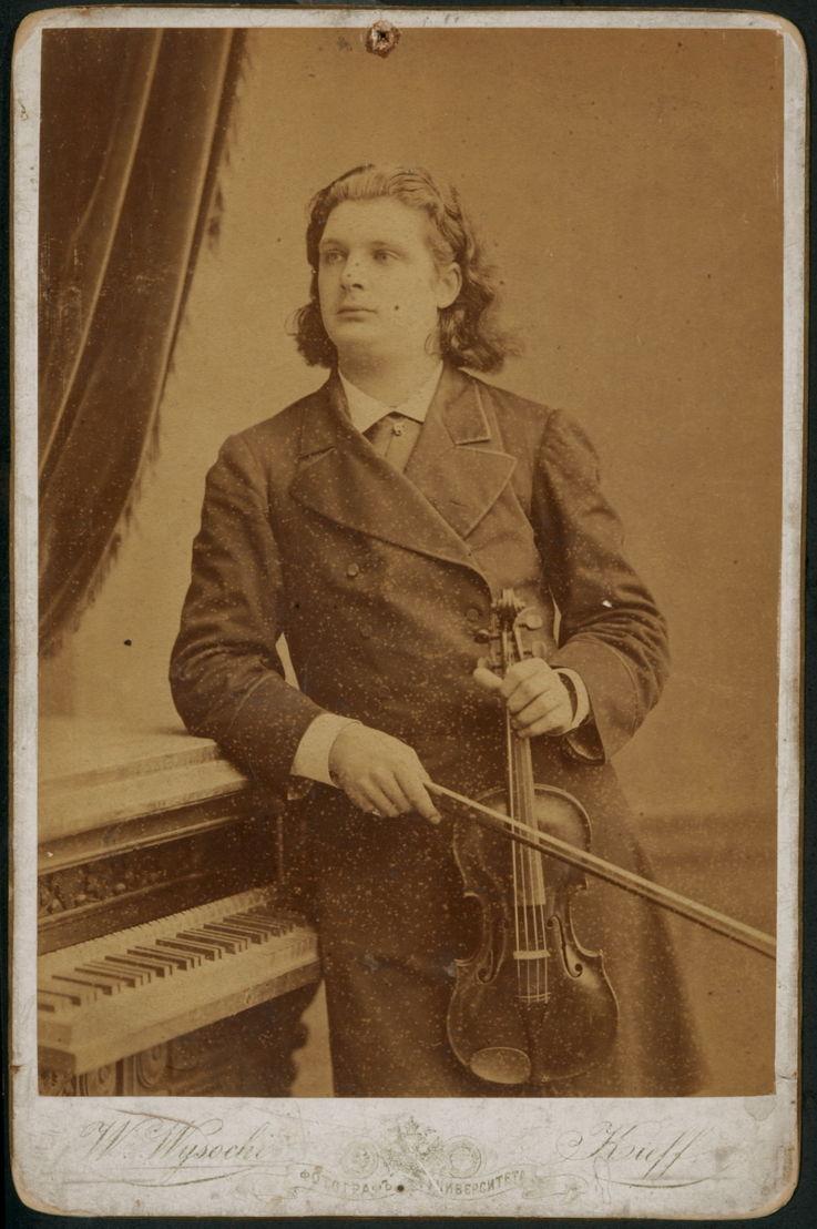 Portrait d'Eugène Ysaÿe