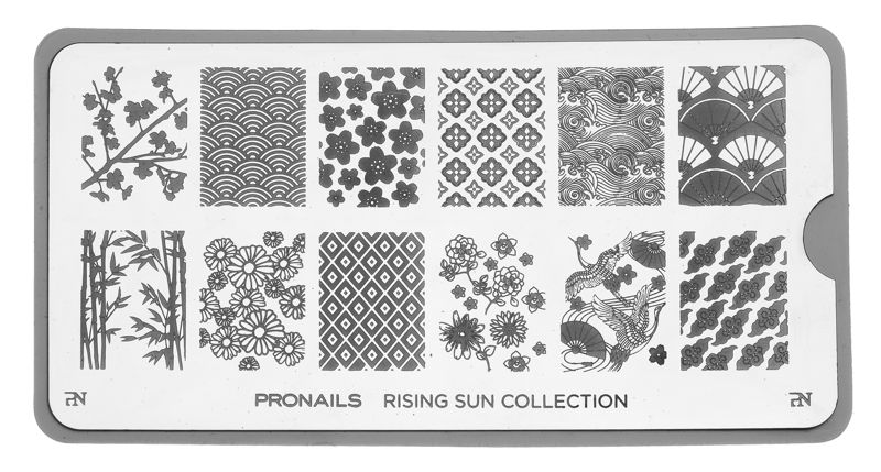 28769 Stamping Plate Rising Sun Collection