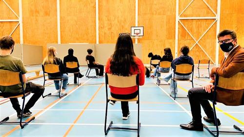 La vaccination se fait également dans enseignement néerlandophone à Bruxelles