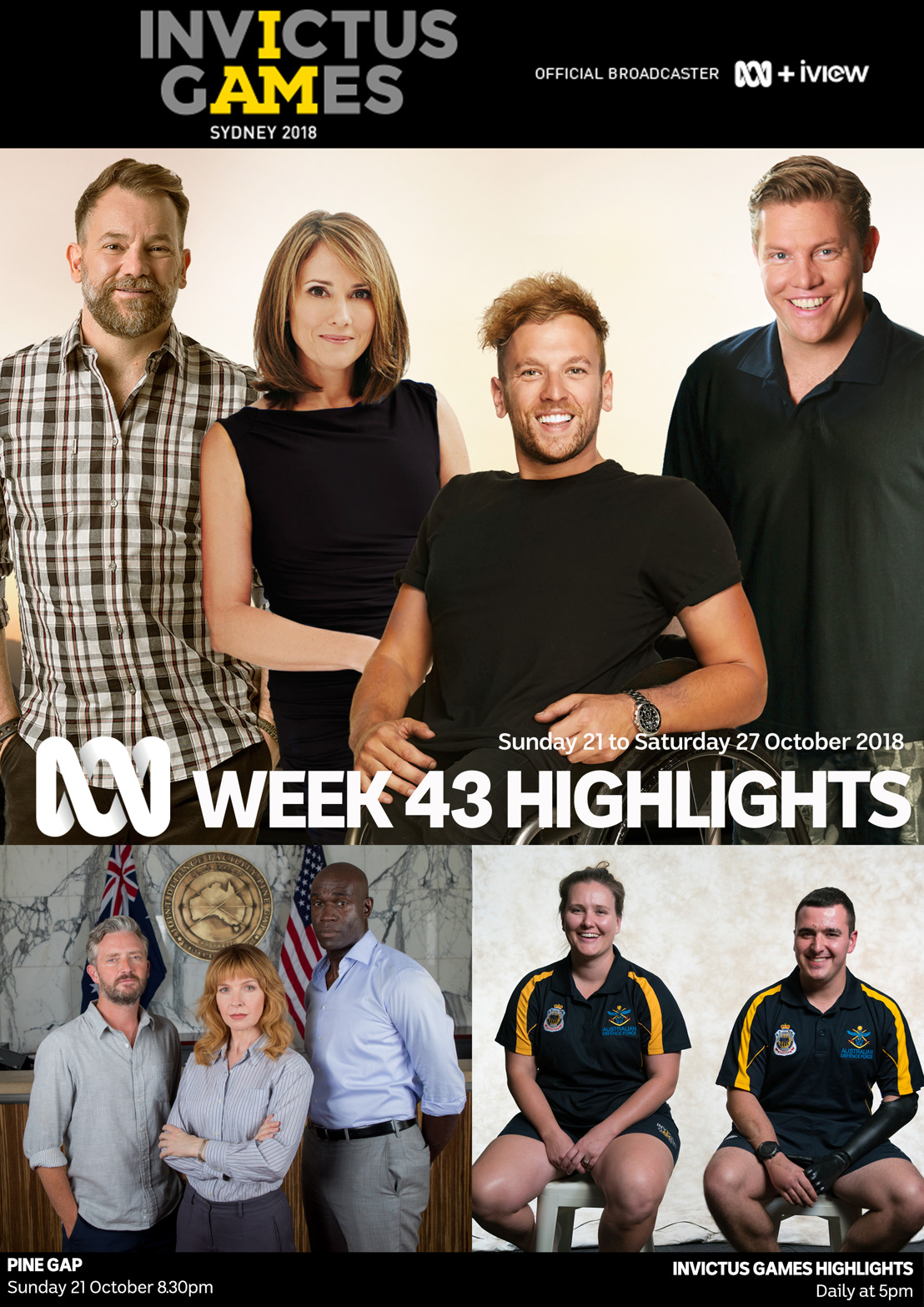 ABC TV Program Highlights - Week 43