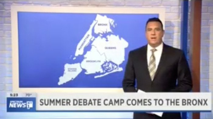Summer Debate Camp Comes to the Bronx