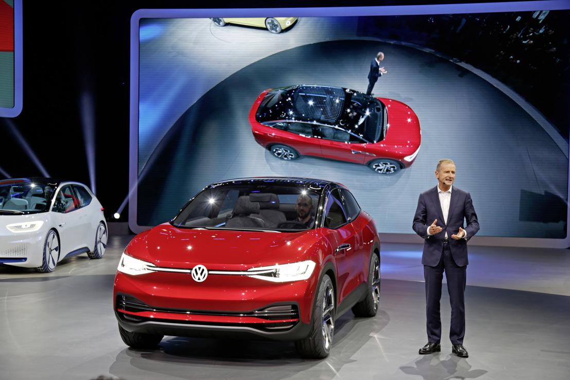 Volkswagen Group Night : la marque Volkswagen présente l'I.D.CROZZ II