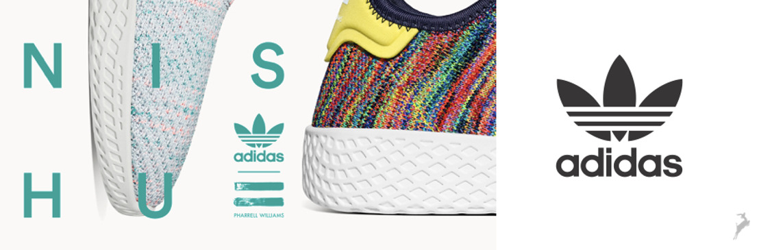 adidas Originals presenta Tennis Hu Part II: inspirados en el Original, reimaginados por Pharrell Williams