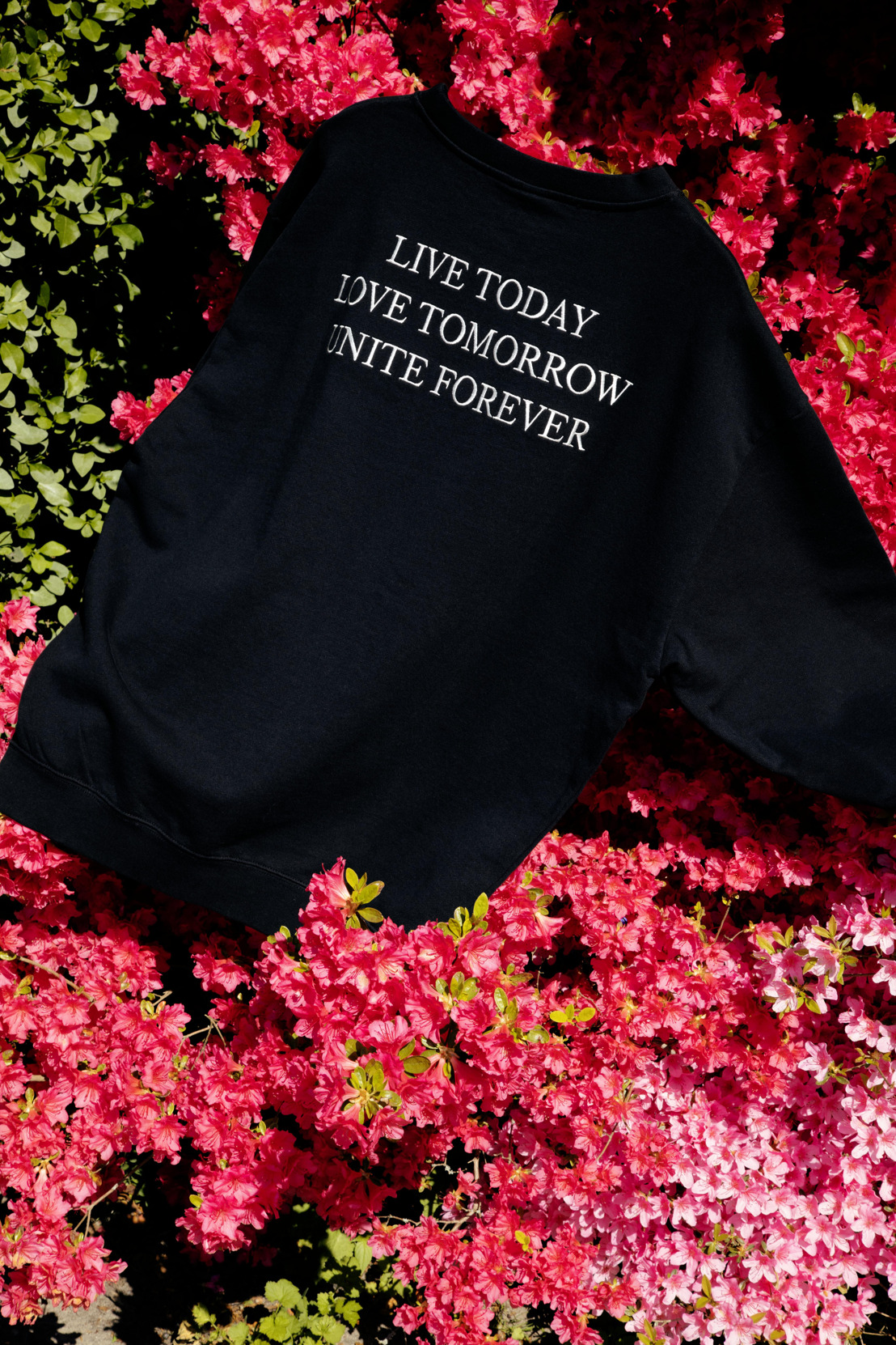 TML by Tomorrowland creates Unite Forever capsule collection featuring bold statement pieces and tie-dye prints