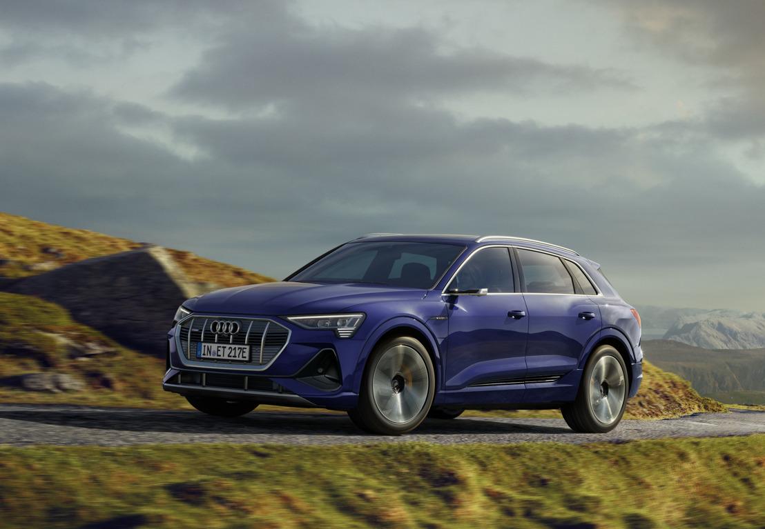 Grotere efficiëntie en meer rijbereik: technische update voor de Audi e-tron