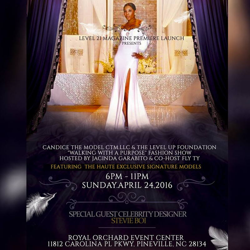 """""""Walking With A Purpose"""" Charity Fashion Show"""