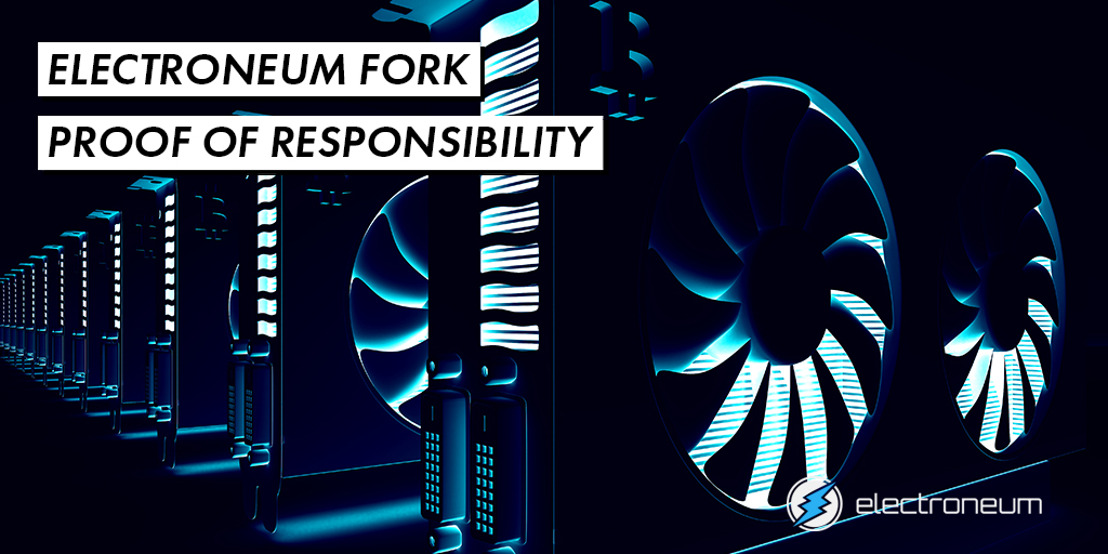 Electroneum's Moderated Blockchain is powered by their unique Proof of Responsibility protocol