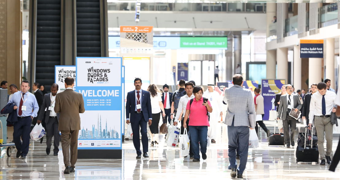 Participants at the DWTC attending the four co-located events