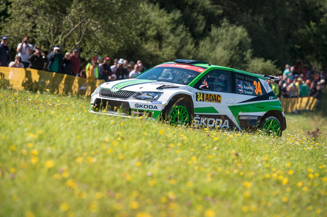 After five wins in a row at Czech Rally Championship, Jan Kopecký and Pavel Dresler (CZE/CZE), driving a ŠKODA FABIA R5, come as reigning champions to Barum Czech Rally Zlín.