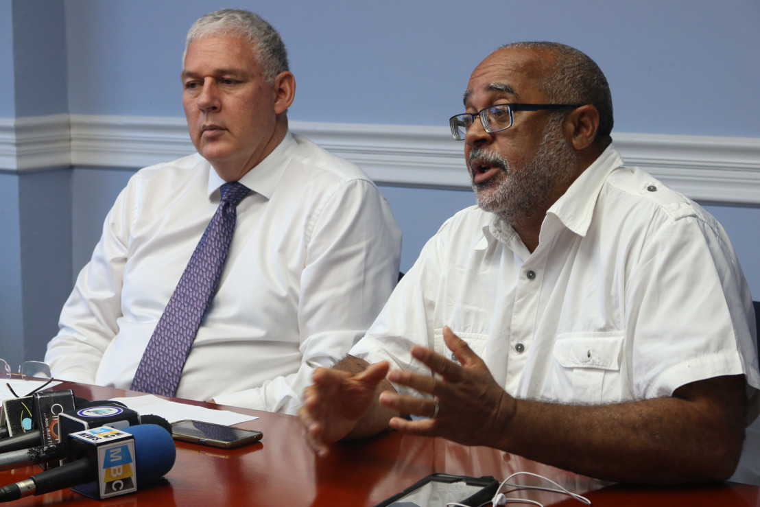 Press Conference: Hurricane Irma Relief Efforts for Affected Caribbean Territories