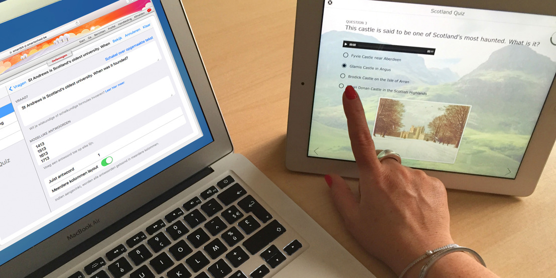 PERSUITNODIGING: BookWidgets en Smartschool brengen 'automatisch verbeteren' naar de Vlaamse scholen
