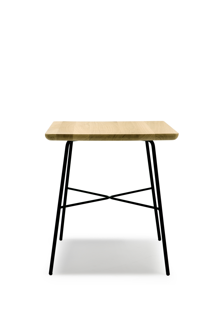 Ethnicraft Oak Disc side table_square