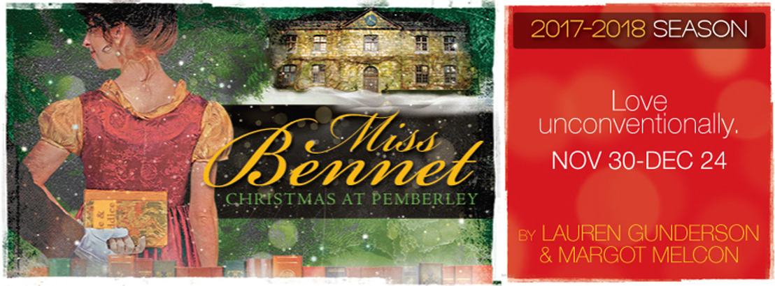 $15 Industry Tickets to MISS BENNET: CHRISTMAS AT PEMBERLEY at Theatrical Outfit