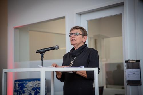 Rode Kruis-Vlaanderen verwelkomt een nieuwe gemeenschapsvoorzitter, Laurette Steenssens
