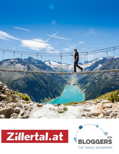 Partenaire premium de #BLOGGERSUTD : le Zillertal