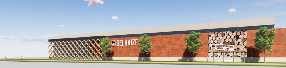 Delhaize construit de toutes nouvelles installations de mise en bouteille à Kobbegem