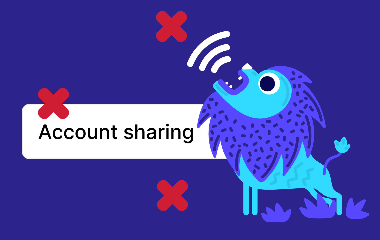 Account sharing among teammates